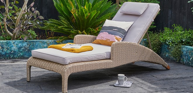 7 Sun Loungers for your garden this summer