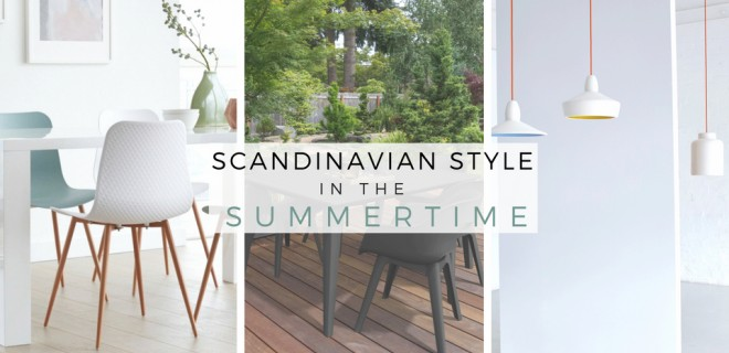 Making Scandinavian Style Work in the Summer Time