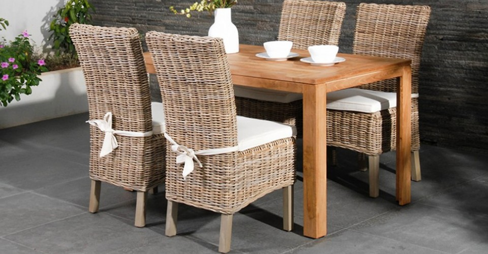 Our Best Selling Rattan Chair - Maya High Back Dining Chair