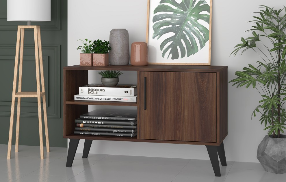 Aspen Oak Sideboard and TV Unit - 1 Door