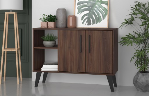 Aspen Oak Sideboard and TV Unit - 2 Doors
