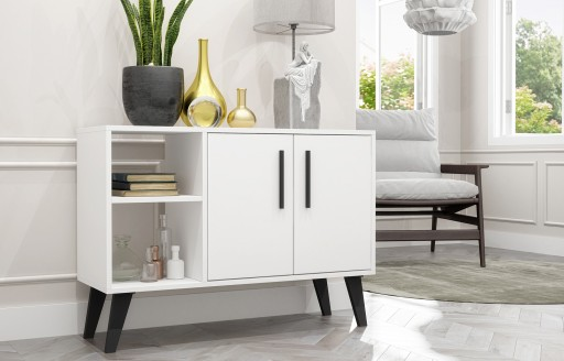 Aspen White Sideboard and TV Unit - 2 Doors