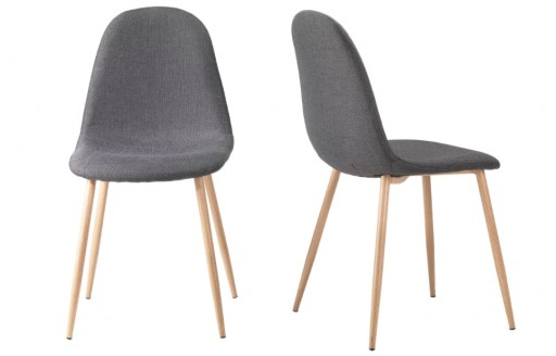 Astrid – Dining Chairs – Grey - Set of 2