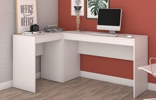 Chester Weißer Schreibtisch