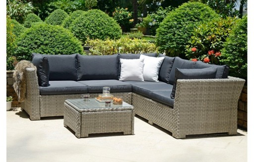 Chesterton - Corner Rattan Set with Cushions
