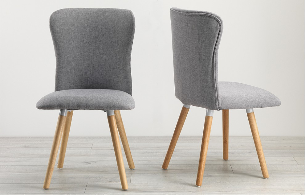 Dove - Dining Chairs - Grey - Set of 2