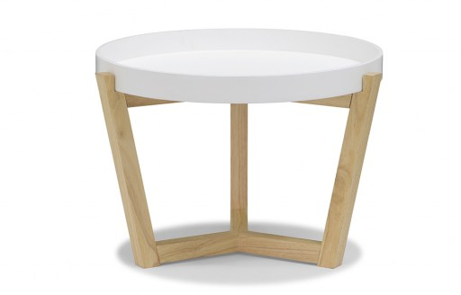 Flexa – White Side Tray Table