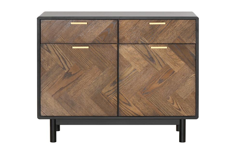 Kensington – Sideboard aus Eichenparkett –  100 cm