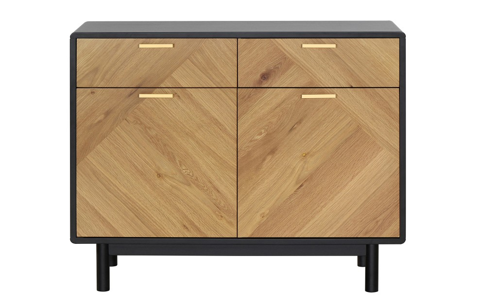 Kensington – Light Oak Sideboard – 100cm
