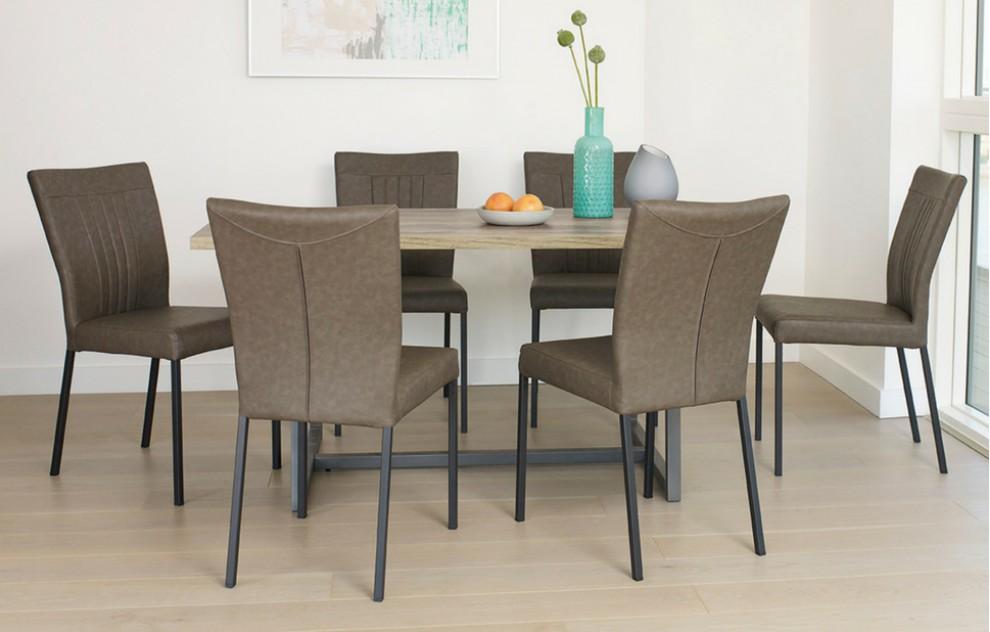 Kora – Dining Set – 6 Seats - 160cm