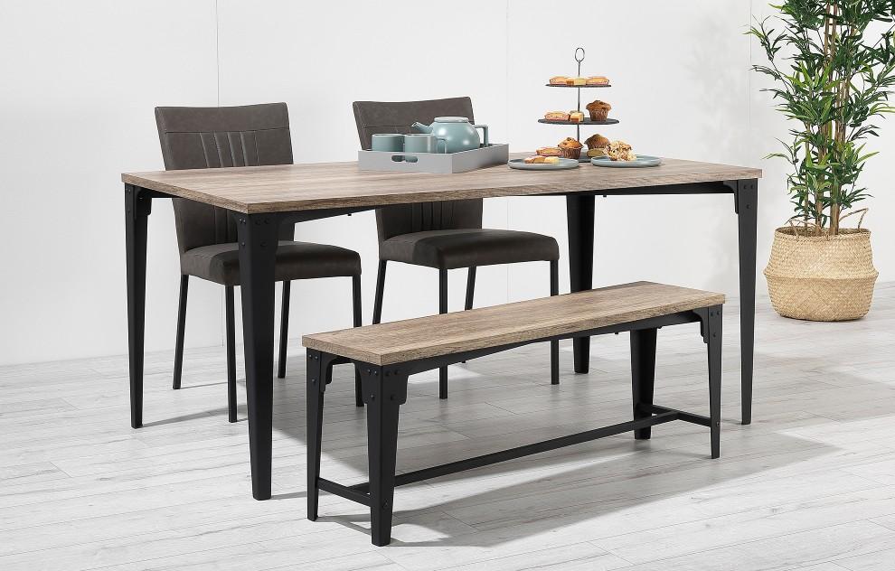 Kora – Bench Dining Set – 4 Seats