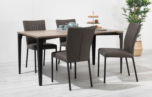 Kora – dinerset – 4 stoelen