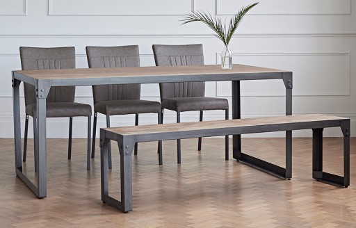Kora - Dining Set with Bench