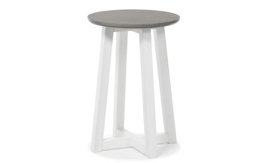 Lucia – Grey Bedside Table