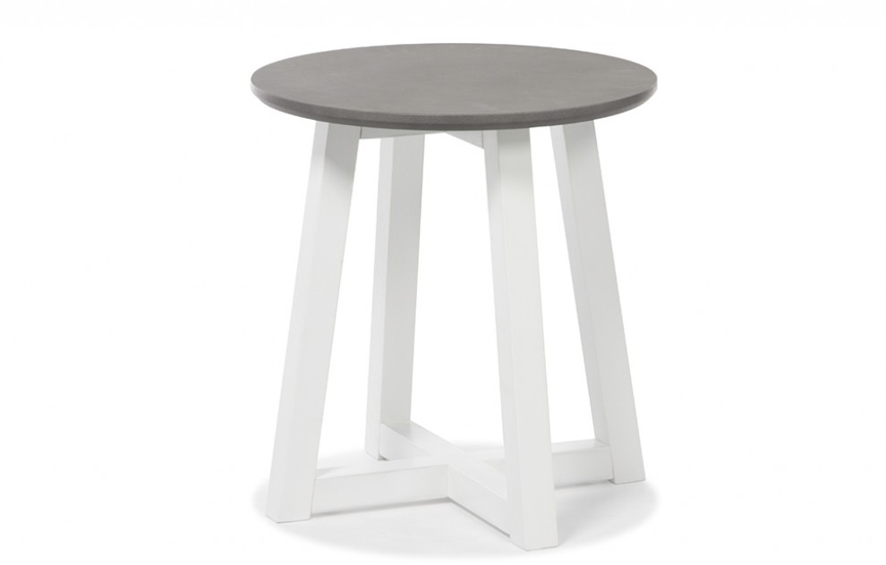 Lucia – Grey End Table