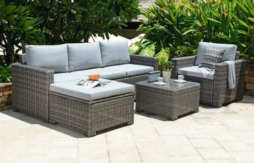 Marbella - hoekloungeset - 5 stoelen