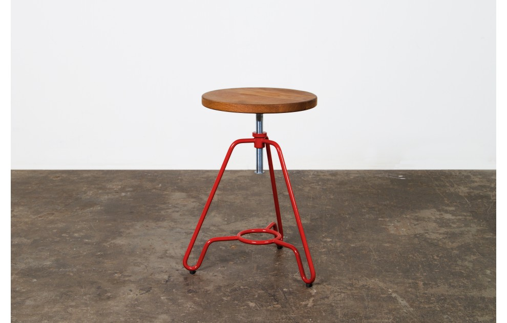 Briggs - Adjustable Stool - Red