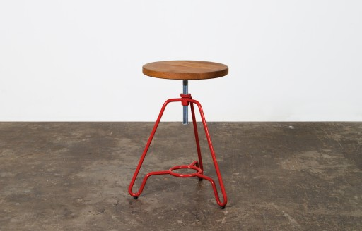 Briggs - Adjustable Stool - Red