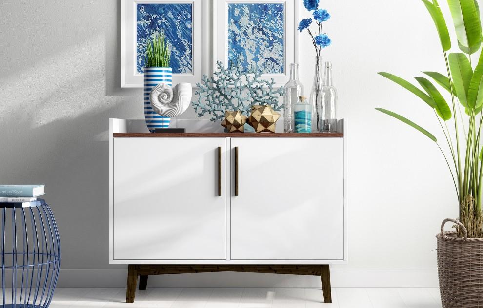 Nova White Dressoir - 90 cm