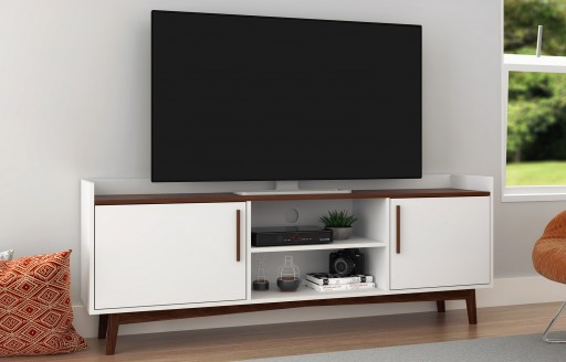 Nova White TV Unit - 150cm