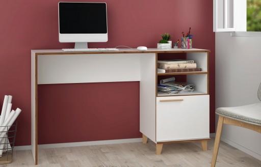 Oslo Schreibtisch mit Regalen
