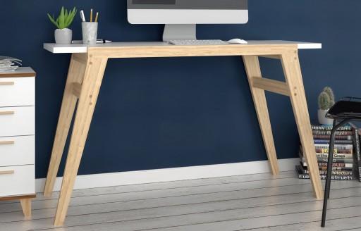 Oslo weißer Schreibtisch