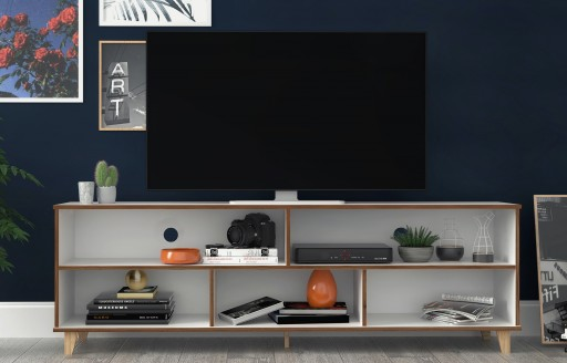 Oslo White TV Unit - 180cm