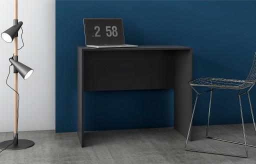 Phantom Schwarzer Schreibtisch – 90cm
