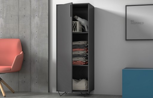 Phantom Black Storage Cabinet