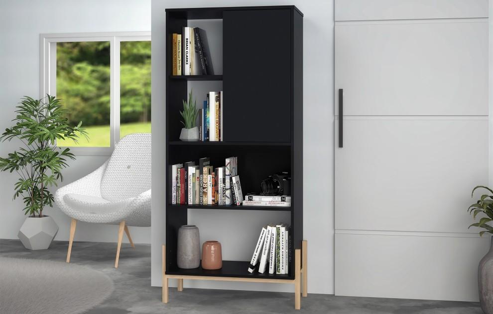 Phoenix Black Bookshelf