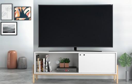 Phoenix weißer Fernsehständer- 140cm