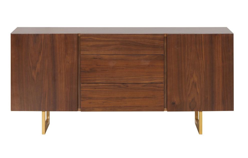 Ronan - Walnuss-Sideboard - 140 cm