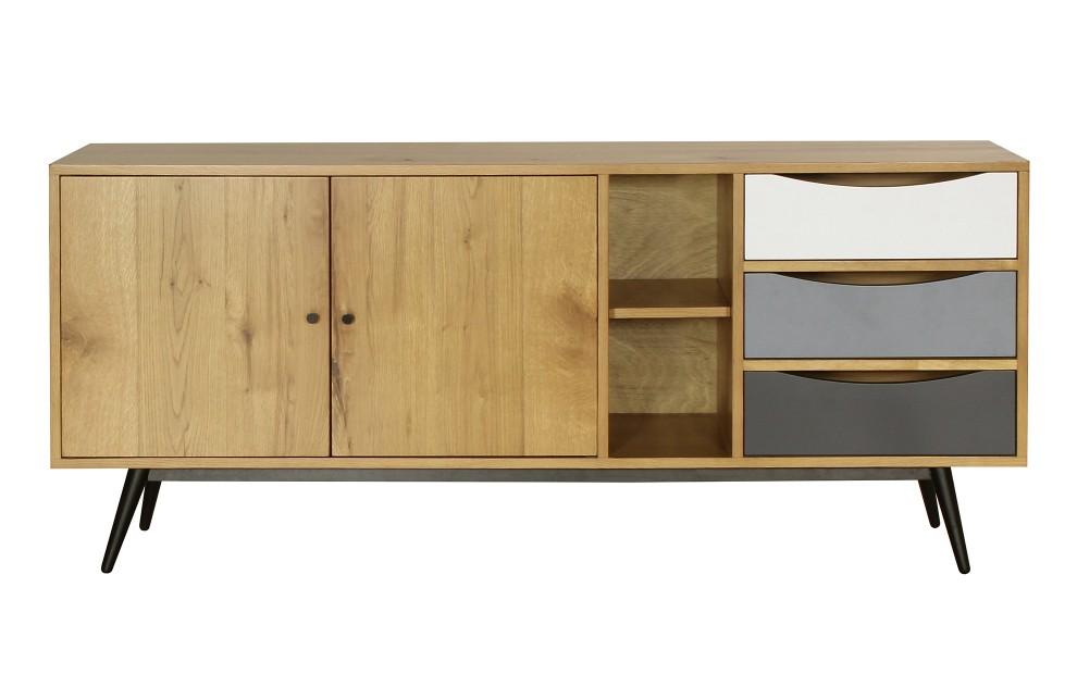 Dansk - eiken dressoir - 170 cm