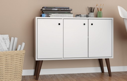 Savannah wit dressoir - 90cm
