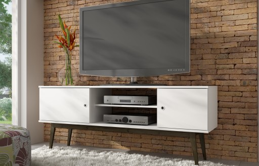 Savannah White TV Unit - 150cm