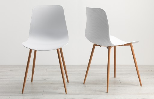 Talisa - Dining Chairs - White - Set of 2