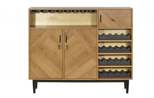 Temis – Parquet Drinks Cabinet – 140cm