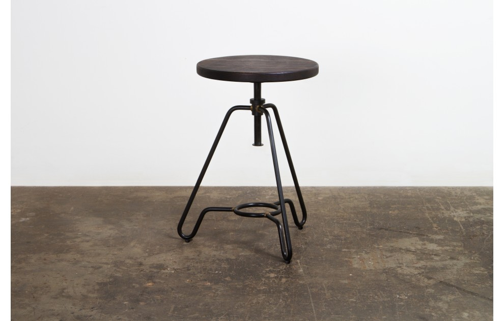 Briggs - Adjustable Stool - Black